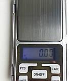 Портативні ювелірні ваги 200 гр, фото 10
