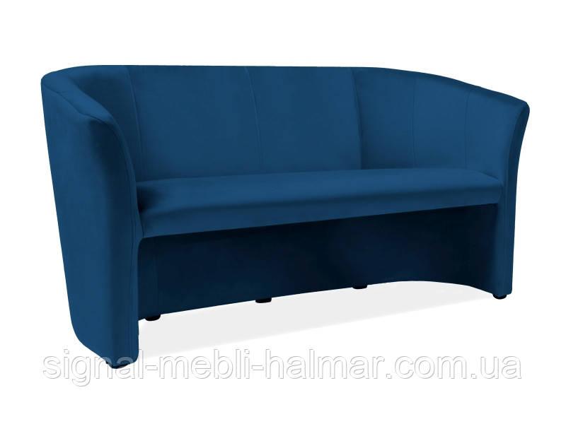 Диван-кресло TM-2 VELVET розовый, бежевый, красный, черный, синий, серый, бирюзовый, зеленый, CURY (Signal)