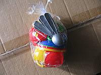 """Игрушка детская """"Чайный сервиз"""" (в кульке 18 предметов), ТМ Технок, 0465"""
