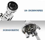 Микроскоп монокулярный металлический yegren №1056, фото 4