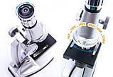 Микроскоп монокулярный металлический yegren №1056, фото 5