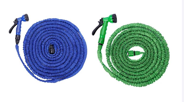 Поливальний шланг X HOSE 60m 200FT з розпилювачем у комплекті / гнучкий шланг для поливу, фото 2