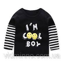 Детская кофта лонгслив COOL для мальчика