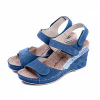 Босоніжки жіночі Mubb (503-18) Синій