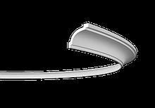 Карниз 1.50.106 гибкий для потолка с пенополиуретану
