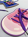 Дерев'яна шнурівка з гудзиками, фото 3