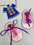 Дерев'яна шнурівка з гудзиками, фото 4
