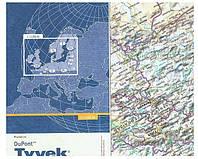 Карты автомобильных дорог Украины из сверхпрочного нервущегося материала Tyvek®