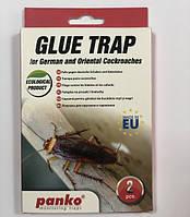 Клеевая Ловушка Домик для тараканов и прусаков с таблеткой-приманкой