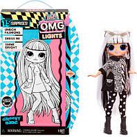 Кукла LOL OMG Groovy Babe ЛОЛ ОМГ Прекрасная Леди L.O.L. Surprise! O.M.G. серия Lights 565154 Оригинал