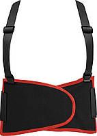 Пояс для поддержки спины эластичный 125х20 см размер XL YATO