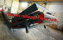 Ленточный транспортер, конвейер, навантажувач, ширина 800 мм., длина 8000 мм., под углом, фото 2