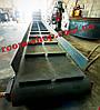 Ленточный транспортер, конвейер, навантажувач, ширина 800 мм., длина 8000 мм., под углом, фото 5