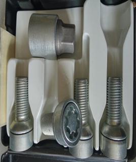 Секретки колесные болт (конус) SICUSTAR 14x1,5х28