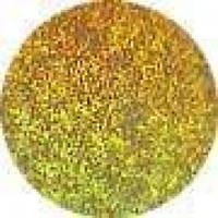 Фольга №36, золотая метель, голографическая.