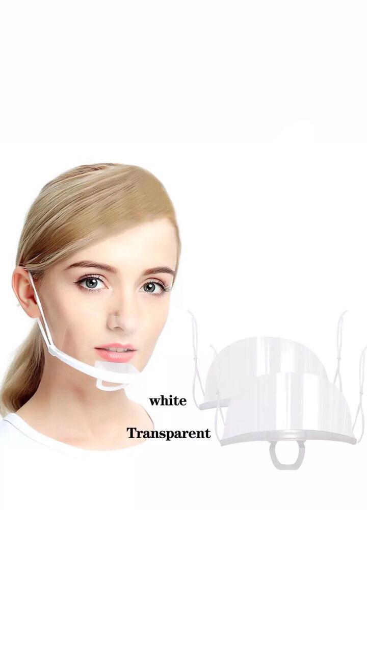 Защитная пластиковая маска медицинская