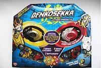 Набор для битвы Denkosekka Battle Set Tiger vs Eagle Тигр и Орел