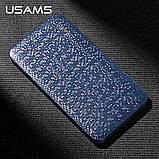 Внешний аккумулятор Power bank USAMS Mosaic 5000 mah Blue, фото 8