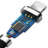 Кабель Baseus USB to Lightning Zinc, длина - 100 см. (CALXN-01) Black, фото 5