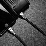 Кабель Baseus USB to Lightning Zinc, длина - 100 см. (CALXN-01) Black, фото 6