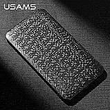 Зовнішній акумулятор Power bank USAMS Mosaic 10000 mah Black, фото 10