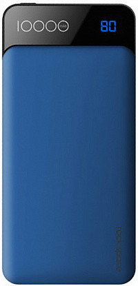 Внешний аккумулятор Power bank Rock Space P39 10000 mah with Digital Display Blue