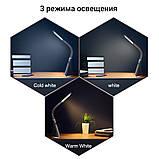 Настільна лампа Lightrich H19 з дисплеєм, Black, фото 10