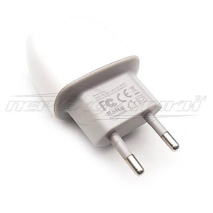 Мережевий зарядний пристрій USB 5V, 2.4 A (2USB), фото 2