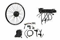 """Электр.велонабор на багажник. Мотор-колесо 29"""" задн. редуктор. 500Вт 48В 12.5Ач 20A контр,ручка"""