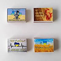 Сірники на магніті , комплект , украЇнські сюжети ., фото 1
