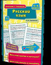 1-4 клас. Довідник у таблицях - Російська мова. ( Таровита І. О.), Видавництво УЛА