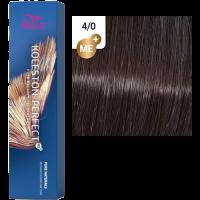 Фарба для волосся Wella Koleston Perfect ME+ 4/0 натуральний Коричневий