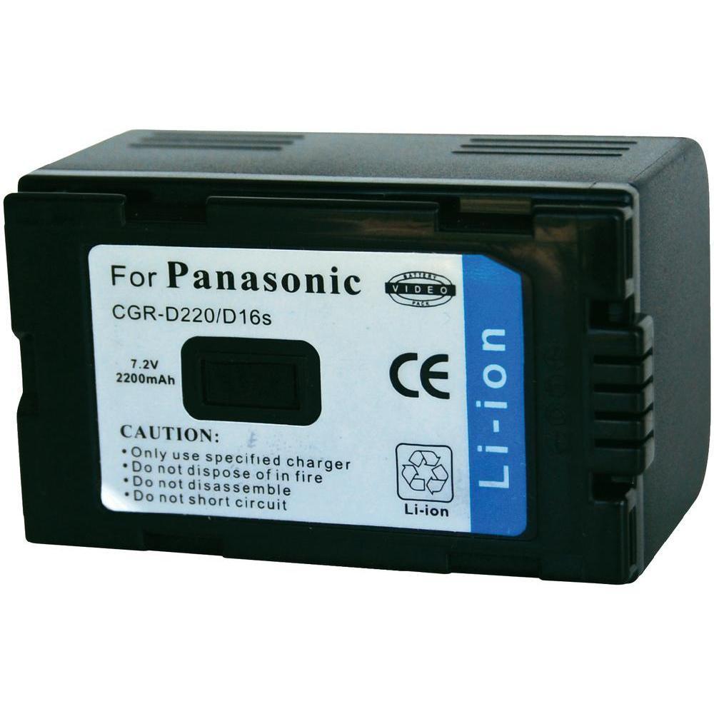 АККУМУЛЯТОР PANASONIC CGR-D16S/D220 7.2V 2200mAh Li-Ion