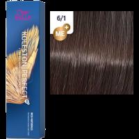 Краска для волос Wella Koleston Perfect ME+ 6/1 Древесный дым