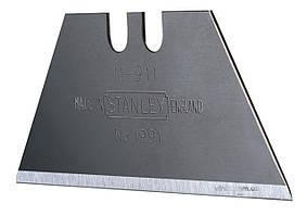 Леза трапецевидні STANLEY 50 x 0.45 мм 5 шт