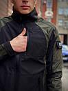 Мужская весенняя куртка хаки-черная Intruder SoftShell Lite 'iForce', фото 6