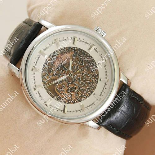 Практичные наручные часы Omega Silver/White Vintage Dial 1830