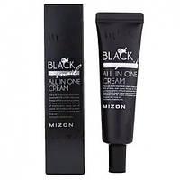Крем для лица с муцином чёрной улитки 90% Mizon black snail all in one cream (tube), 35ml