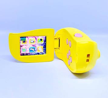 Цифровой детский фотоаппарат Atrix Tiktoker 7 20 Mp 1080p yellow
