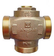 Клапан підтримки темп. обратки(55 С) DN 25, Teplomix (Тепломикс) для твердопаливних котлів HERZ (Австрія)