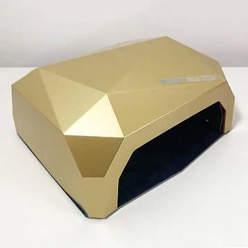 Сушарка для нігтів UV LAMP CCF+LED. Колір: золотий (SV)