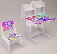 Детская парта со стульчиком My Little Pony 0018, фото 1