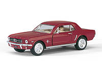 "Машина Kinsmart ""FORD MUSTANG 1964"",  KT5351W"