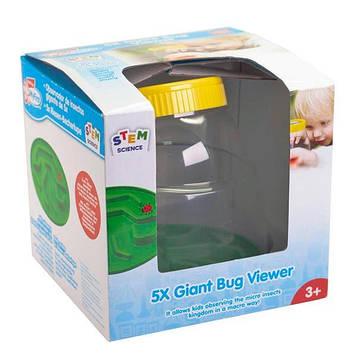 Набір натураліста Edu-Toys Контейнер для комах з лупою 5x (JS010) (SV)