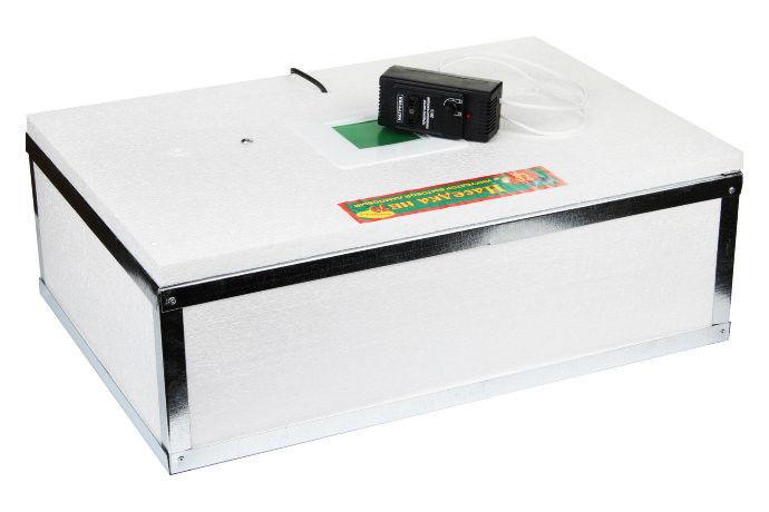 Побутовий інкубатор для яєць Квочка ІБ-100 з ручним переворотом