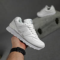 Женские кроссовки в стиле New Balance Нью беланс 574, белые 38 (24 см), ОД - 20291