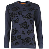 Свитшот женский SoulCal&Co Floral тёмно-синий, фото 1