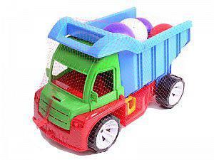 """Машина грузовик """"Алекс"""" с шариками 086 ТМ Бамсик"""