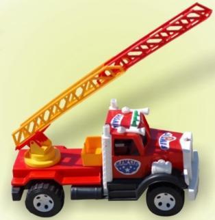 Машина пожарная 004 ТМ Бамсик