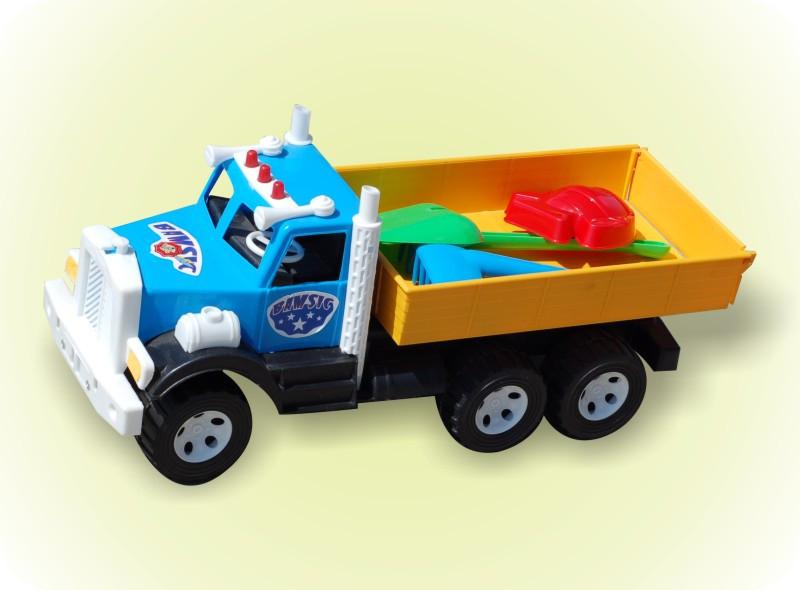 "Машина грузовик ""Фарго"" с лопаткой 009 ТМ Бамсик"